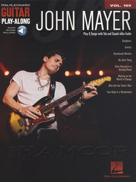 How To Play In A Burning Room by Mayer Guitar Play Along Tab Book With Audio