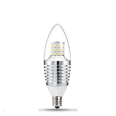 Led E12 Candelabra Base Bulb 7w 110v Daylight White 6000 Led E12 Light Bulb