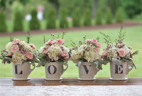 these shabby chic wedding details will make you swoon