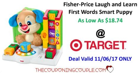 laugh and learn words smart puppy fisher price laugh and learn words smart puppy as low as 18 74