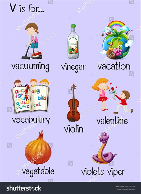4 Letter Words Z And V words with the letter v things that start with v www