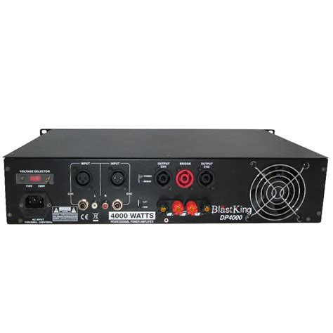 4000 watts professional power lifier dp4000 blastking