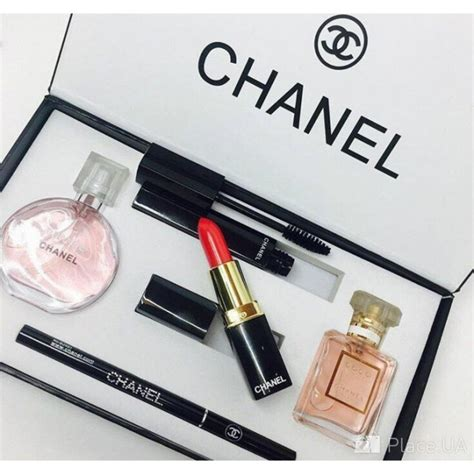 1 Set Chanel Import chanel 5 in 1 gift set makeup perfume set box in mascara lipstick eyeliner pencil 171 sc