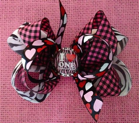 direction make hair bows i one direction hair bow one direction hair bows pinterest