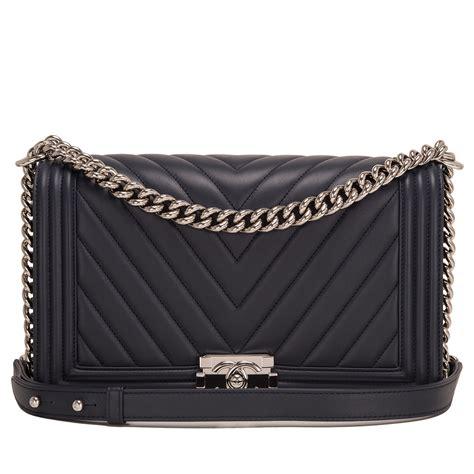 Ff Chanel Chevron Medium chanel navy chevron quilted lambskin new medium boy bag world s best