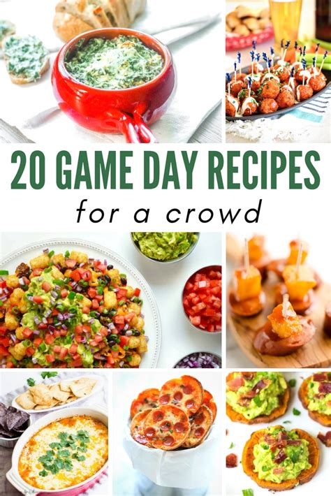 20 delicious cooking for a crowd recipes momswhosave com 20 easy and delicious game day recipes for a crowd finger