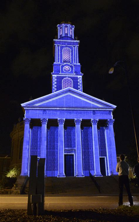 best lights near winston salem winston salem light project lights up local church local news journalnow