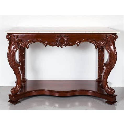 mahogany console table antique anglo indian mahogany console table with marble