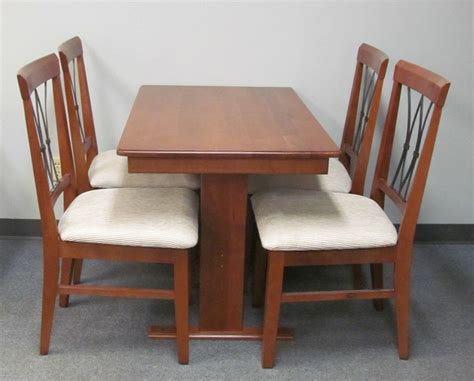 Rv Dining Table And Chairs 4 Storage Insert Chairs 26x40 Dinette Table Hardwood