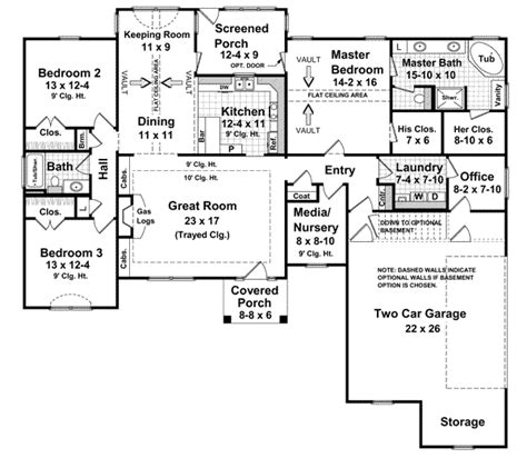 2000 sq ft house plans one story traditional style house plans 2000 square foot home 1