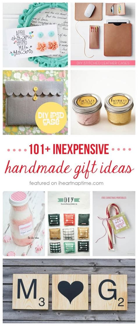 easy inexpensive gifts to make 50 gift ideas to make for 5 i nap time