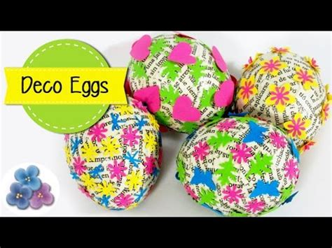 How To Make Easter Eggs Out Of Paper - how to make paper scrap easter eggs and easy