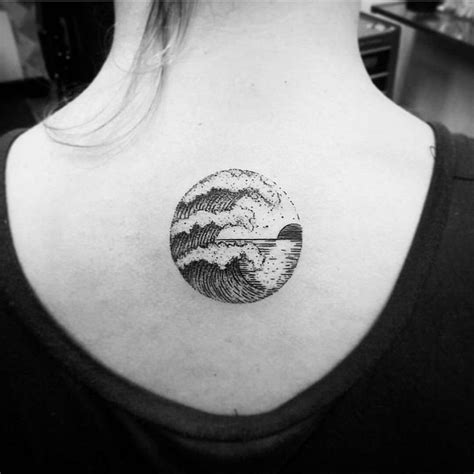 20 powerful wave tattoos tattoo dot tattoos and piercings