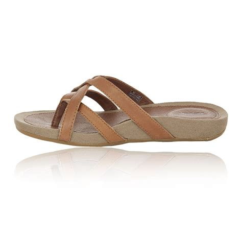 comfortable flip flops for walking teva capri womens brown lightweight breathable walking