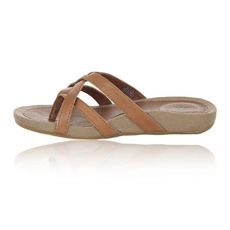 Flip Flops Comfortable For Walking by Teva Womens Brown Lightweight Breathable Walking