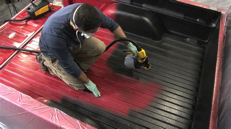 spray in bed liner helpful tips for applying a truck bed liner think magazine