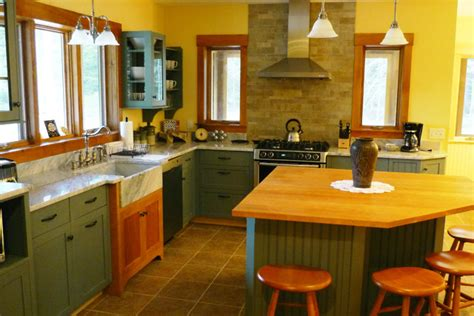 green and yellow kitchens kitchen in cherry marble green and yellow traditional