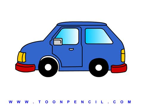 kid car drawing animated car view how to draw car for kids