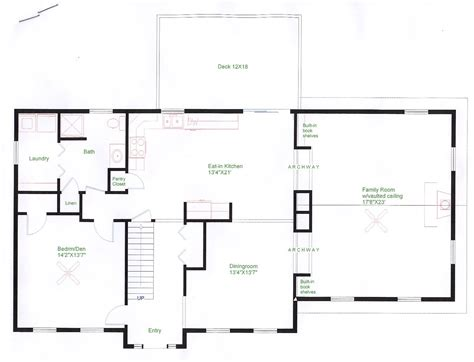 colonial home floor plans colonial floor plans of houses home design and style