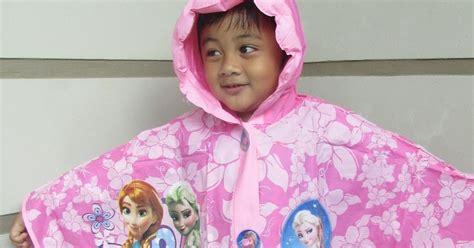 Boots Anak Anti Hujan Karakter 1 rainy collections jas hujan anak karakter frozen model