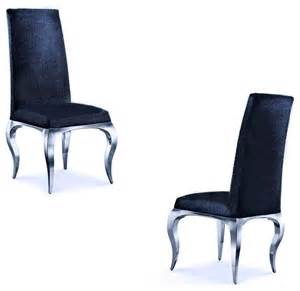 Black Dining Room Chairs Set Of 4 tricase modern luxury chair