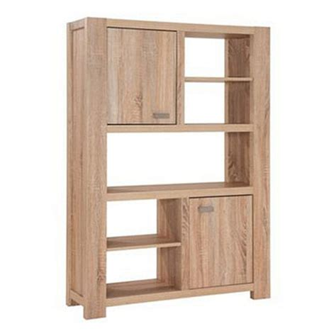 Debenhams Washed White Oak Effect Cleves Bookcase White Oak Bookcase