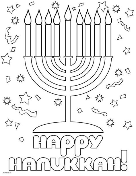 hanukkah coloring pages printable happy hanukkah coloring pages coloring pages