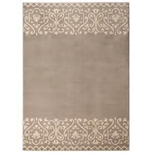 threshold scroll border area rug gray target
