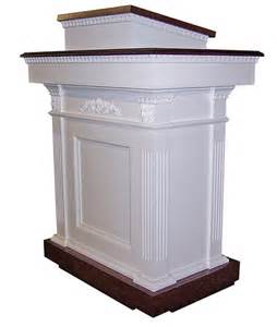 Colonial style pulpit furniture rugel church furnishings