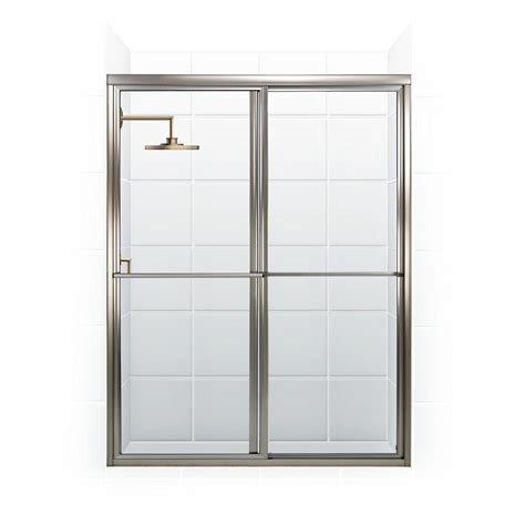 Coastal Shower Doors Newport Series 64 In X 70 In Framed Shower Door Bar