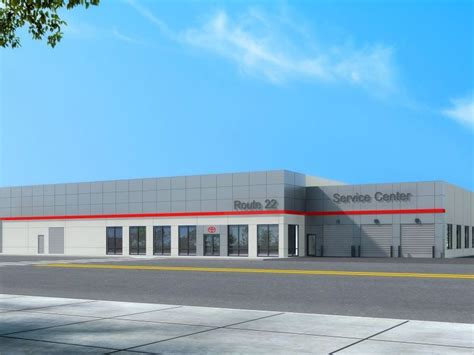 Toyota Route 22 Route 22 Toyota Service Center Breaks Ground Westfield