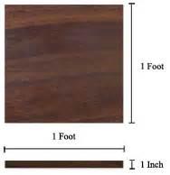 Board Foot Calculator What Is A Board Foot