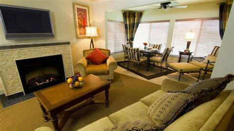 two bedroom living room picture of suites at fall creek
