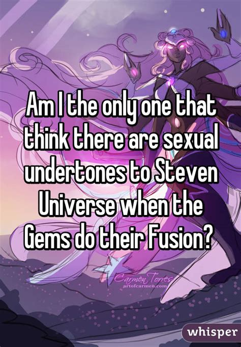 fusion for beginners and experts steven universe books am i the only one that think there are sexual undertones