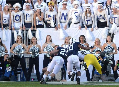 penn state football student section pin by david beagin on football 2013 pinterest