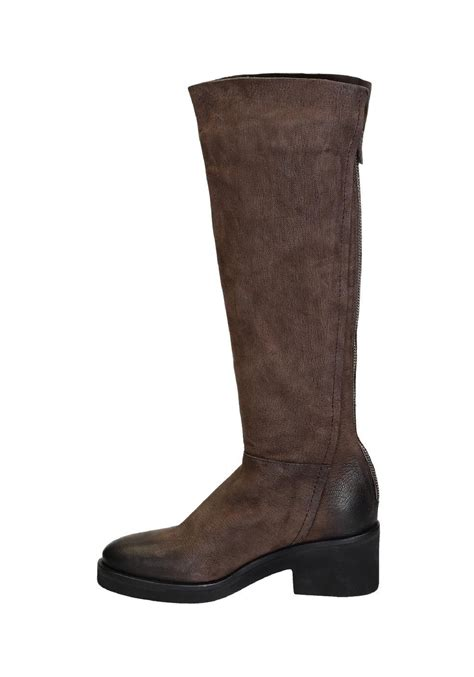 Givenchy Stilla Heels Vic3136 1 vic mati 233 knee high boots in brown suede leather italian boutique