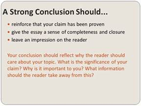 Concluding An Argumentative Essay by Argumentative Writing Conclusions Ppt
