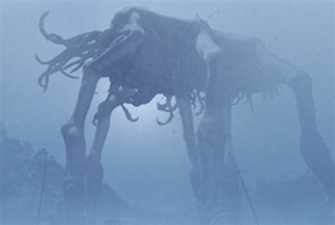 film giant monster in the sea the mist 2007 review basementrejectsbasementrejects
