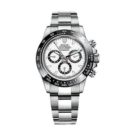 Rolex Cosmograph Daytona 116500LN Stainless Steel Watch (White)   World's Best