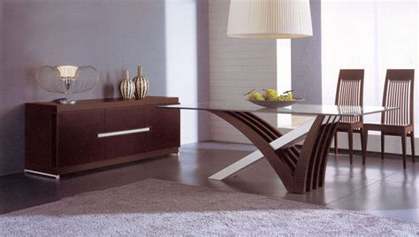 luxury in wood and clear glass top leather italian dining room furniture contemporary dining
