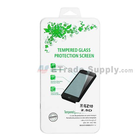 Tempered Glass Bb Z10 blackberry z10 tempered glass screen protector etrade supply
