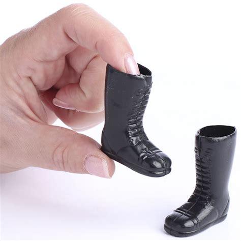 black doll supplies black plastic santa doll boots doll accessories doll