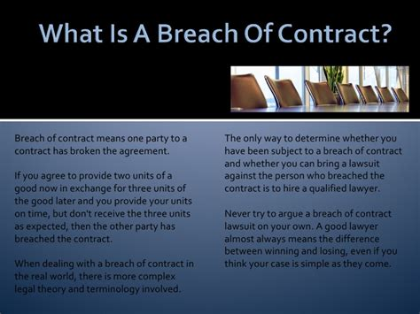 what is breach of contract in business lawsuits breach of contract basics for your business