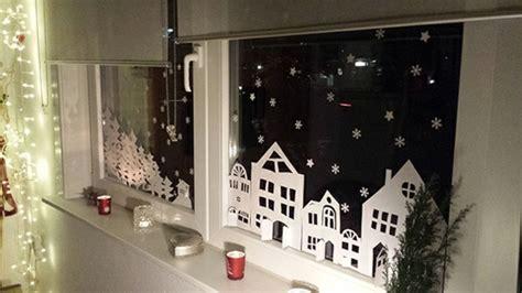 Fensterbilder Selber Basteln Vorlagen Weihnachten by Feine Fensterbilder Zu Weihnachten Und Winterzeit
