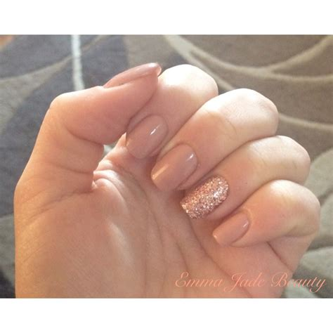 most popular shellac manicures shellac satin pyjamas rose gold glitter nails