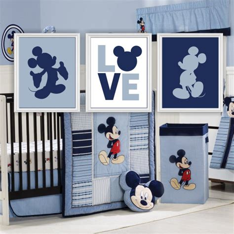 mickey mouse baby bedroom mickey mouse silhouette love disney wall art baby boy room