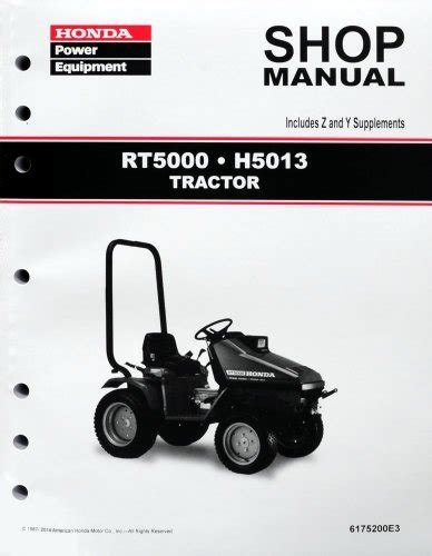 honda mower manual honda power equipment honda h5013 rt5000 lawn tractor