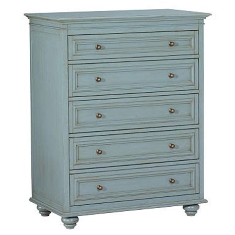 Blue Dressers by Painted Blue Dresser