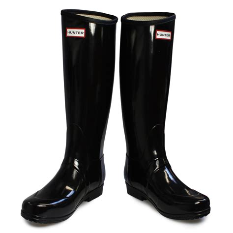 regent black wellington wellies boots size 3