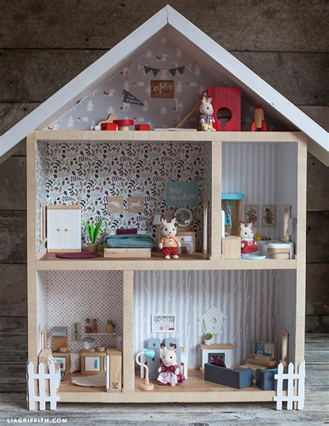 build your own doll house give a home make your own dollhouse lia griffith